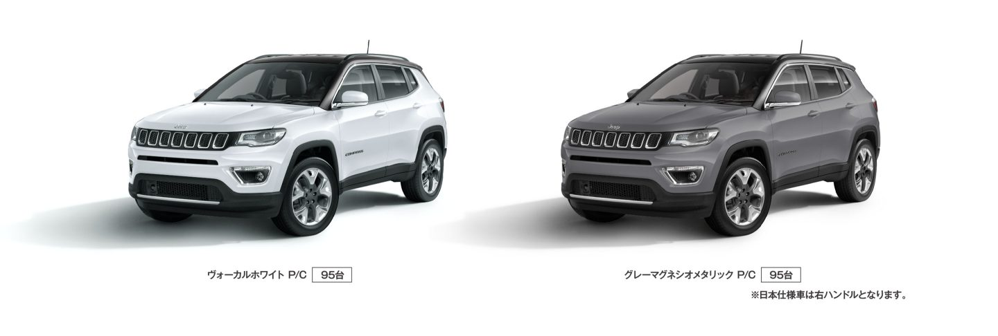 Jeep® Compass Limited Black Roof Edition