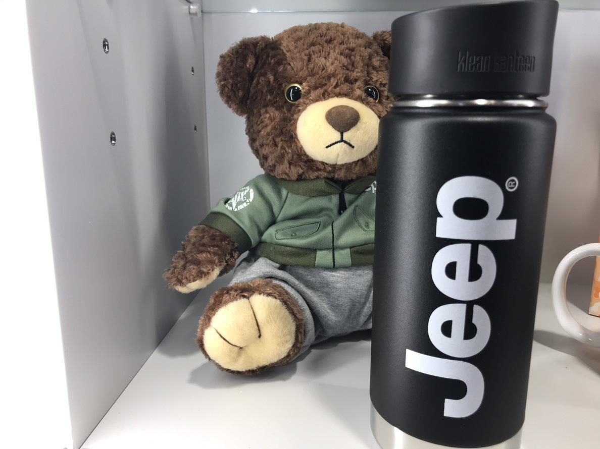 Jeep×Klean Kanteenワイドインスレートボトル