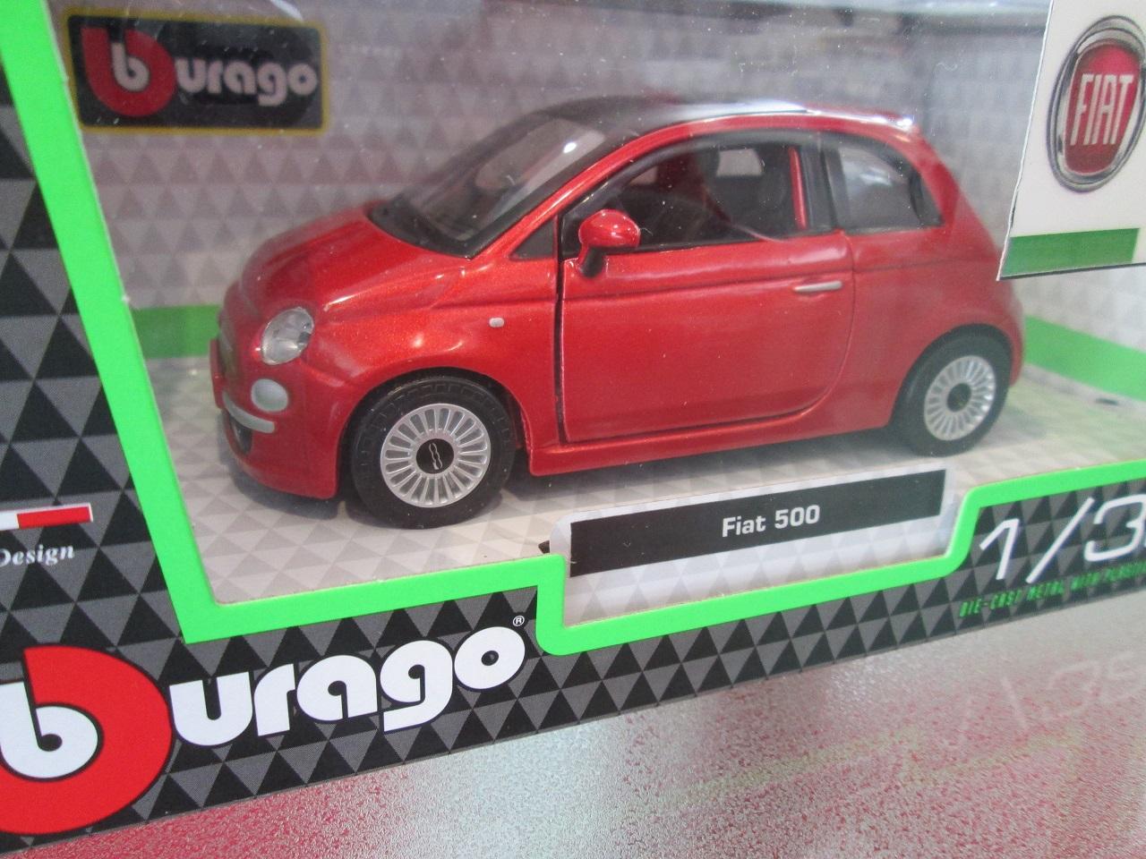 1/32 FIAT500ミニチュアカー