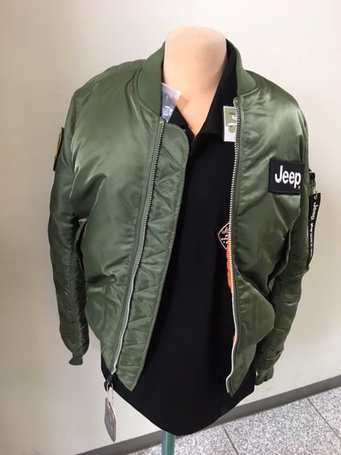 Jeep×ALPHA  INDUSTRIES MA-1