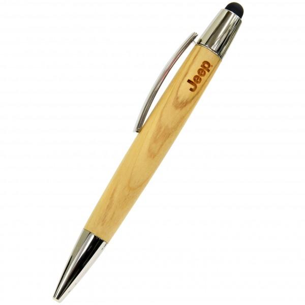 Jeep® ウッディーボールペン/タブレットタッチペン