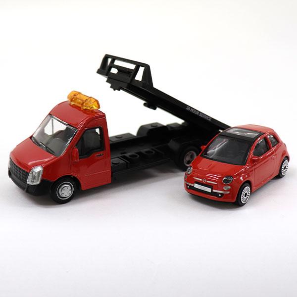 FIAT 500 トレーラーカー(1/43サイズ)