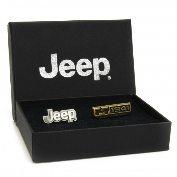 Jeep® 75th Anniversary 限定ピンバッジセット