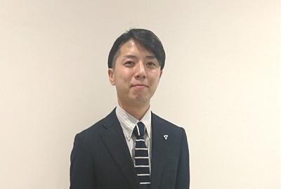 セールスマネージャー 篠 智彦