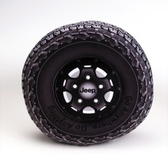 Jeep® Wranler タイヤクッション