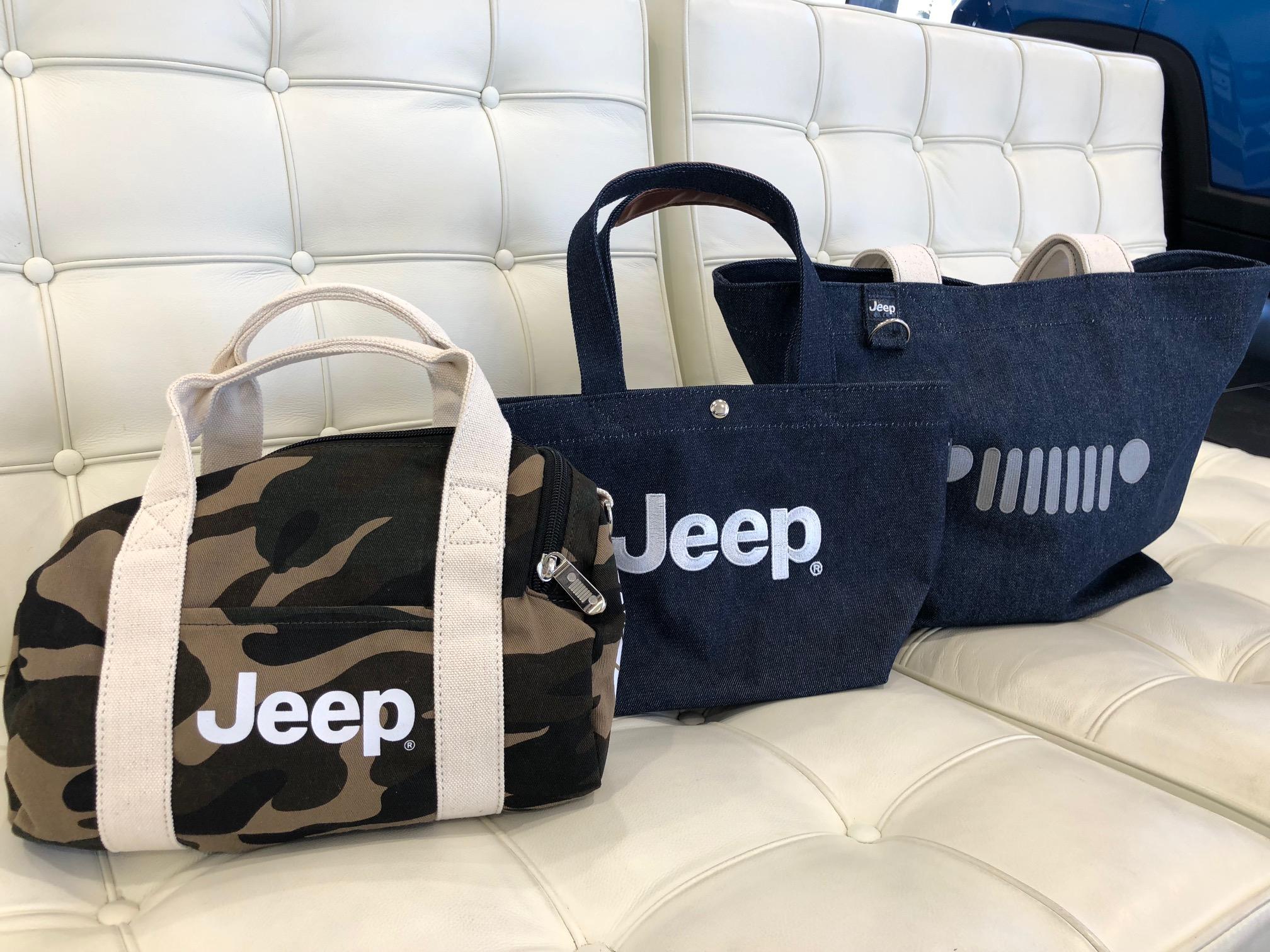 Jeepマイクロミニボストンバッグ/Jeepデニムランチトートバッグ/JeepセブンスロットデニムトートバッグⅢ