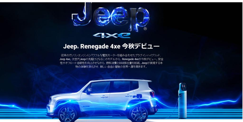 New Jeep® Renegade 4xe