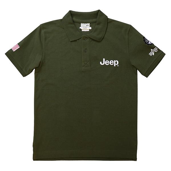 Jeep® × Alpha Polo shirts