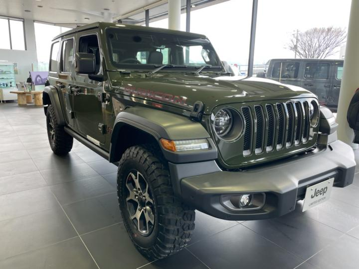 Wrangler(JL) Unlimited Rubicon Sarge Green