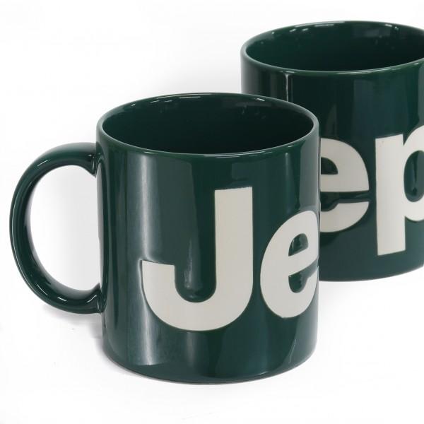 Jeep® BIGロゴ マグカップ カーキ