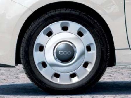 FIAT 500 ビンテージスタイル ホイールカバーキット15インチ