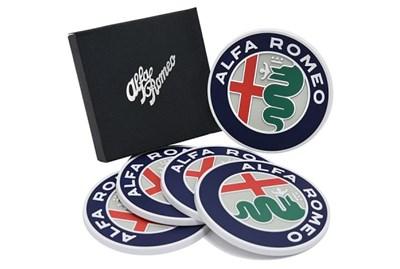 Alfa Romeo New エンブレムコースター(5枚セット)