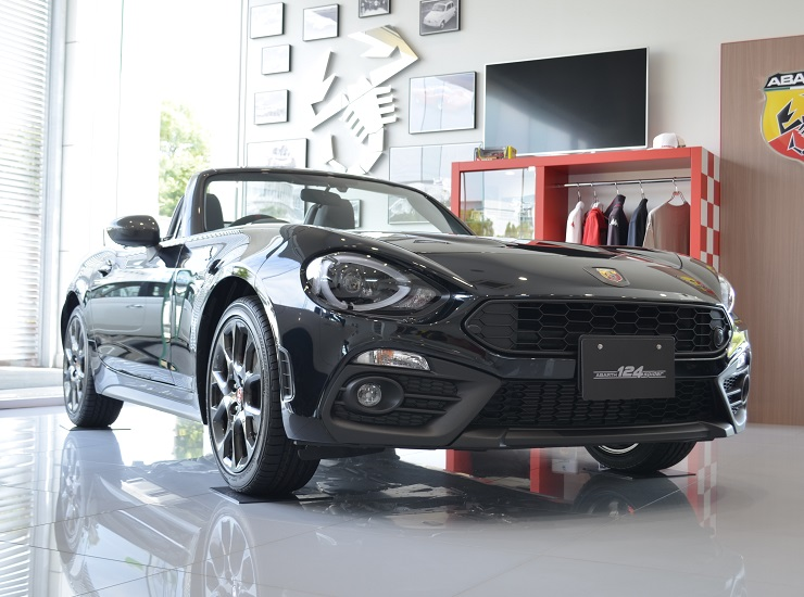 ABARTH 124 spider 2 Year Anniversary