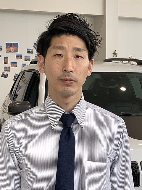 セールススタッフ 植田 拓也