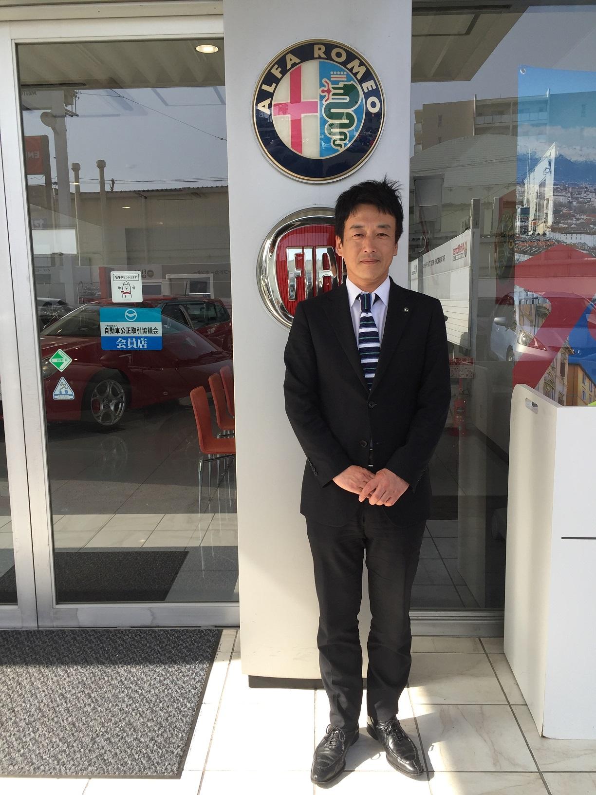 店長 濵田 光彦