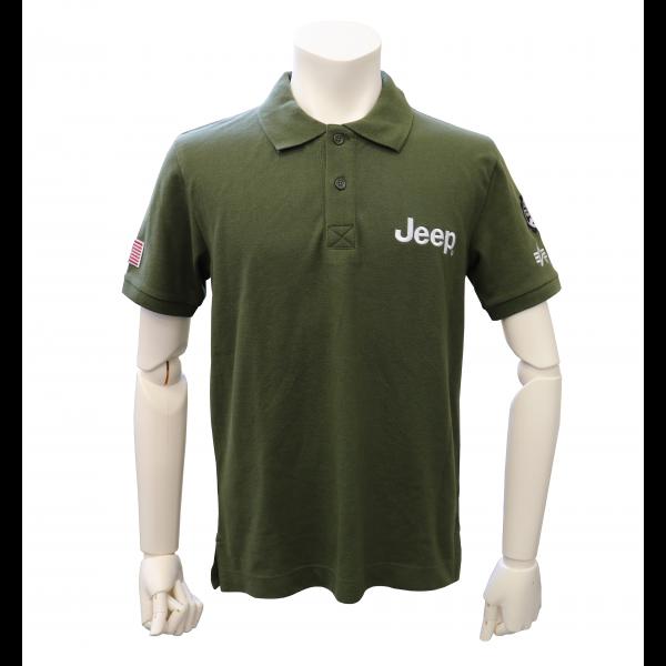 Alpha コラボ ポロシャツ