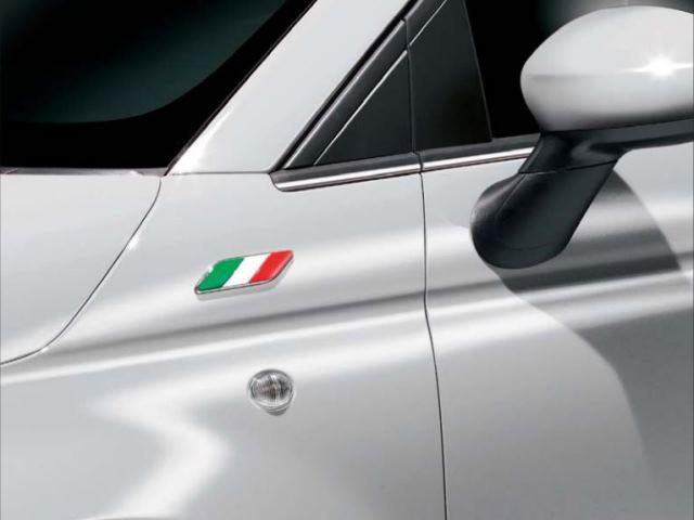 FIAT イタリアンフラッグ フェンダーバッヂ