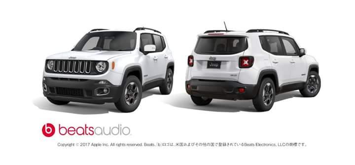 Jeep Renegade特別限定車発売!!