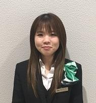 ショールームスタッフ 永川 ちひろ