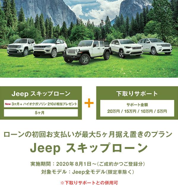 Jeep スキップローン