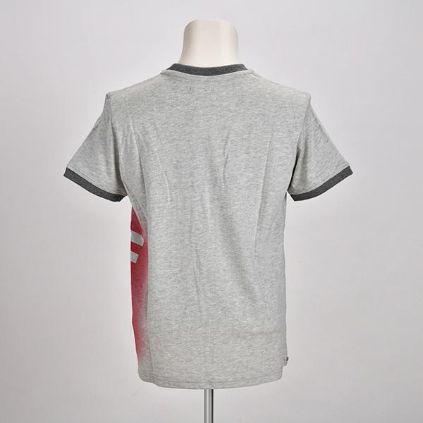 リンガーTシャツ(グレー)