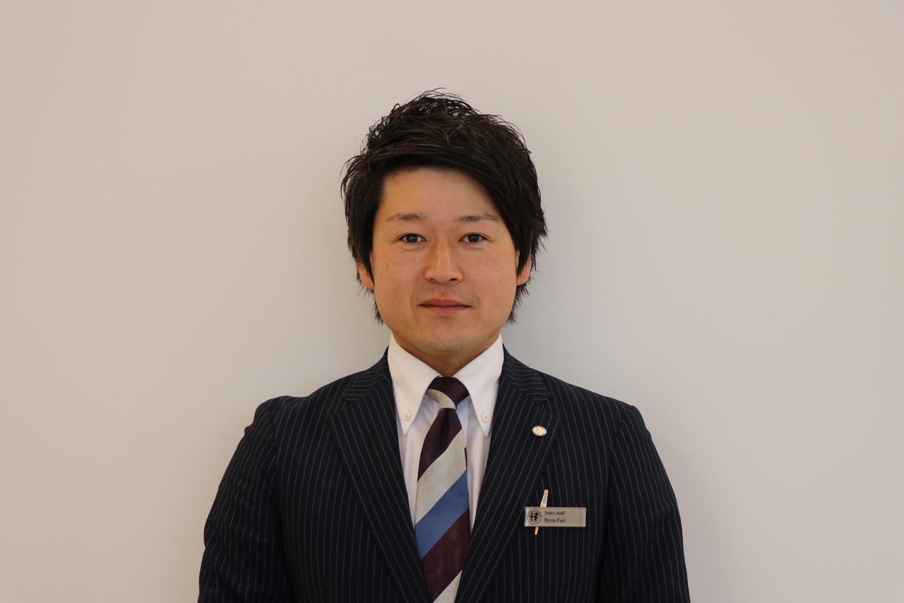 セールススタッフ 藤井 亮太