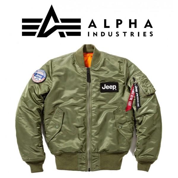 Jeep® × ALPHA INDUSTRIES MA-1