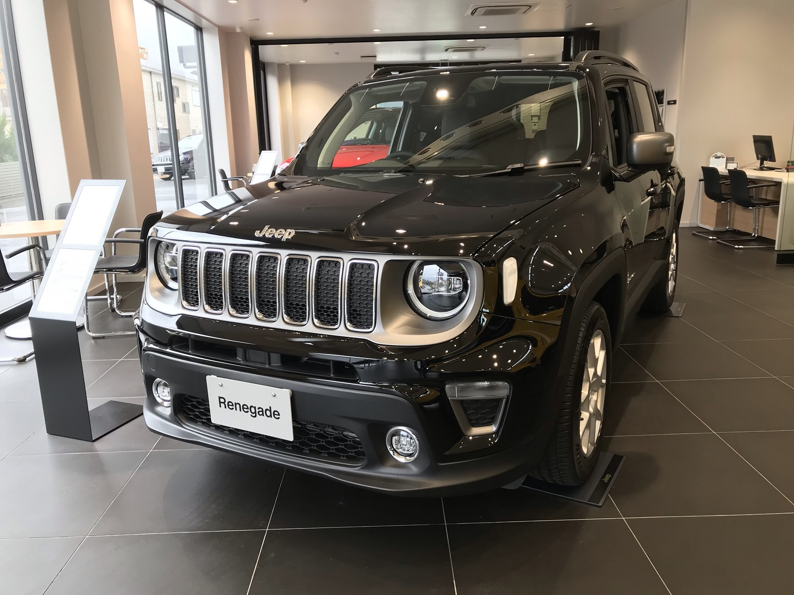 Jeep Renegade Limited到着!
