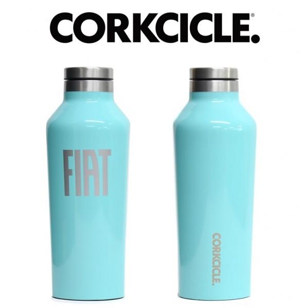 FIAT×CORKCICLE キャンティーンターコイズ(マグボトル)9oz