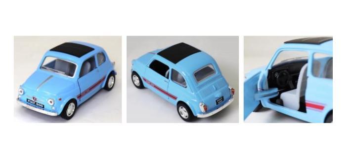 FIAT 500F 1/24 モデルカー