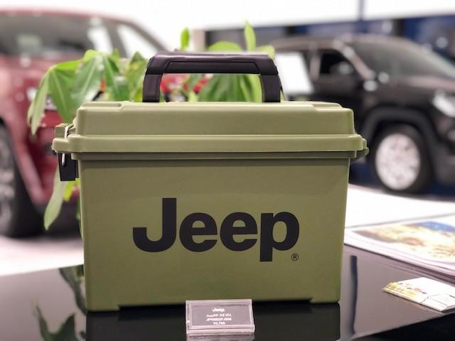 Jeepツールボックス