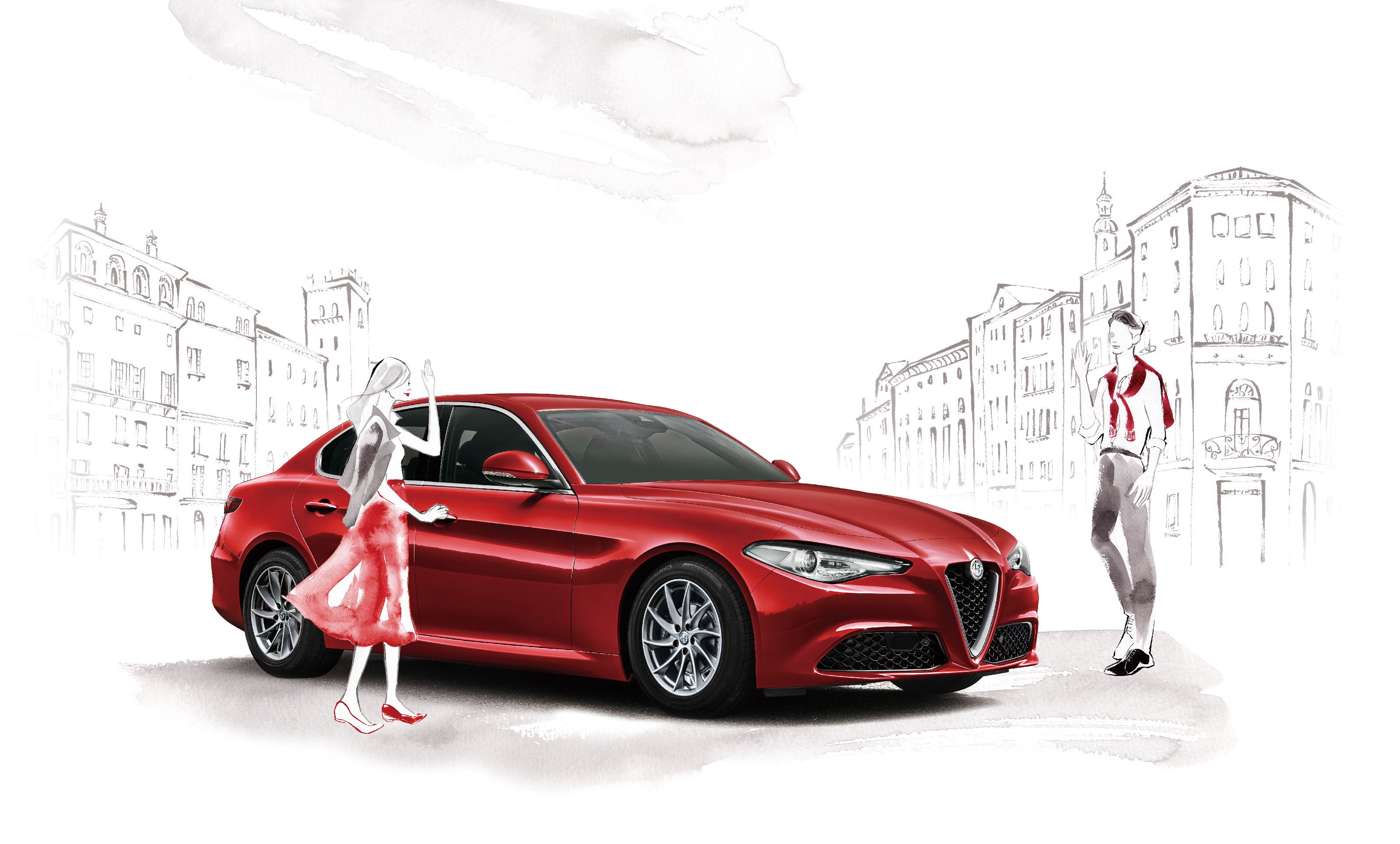 A DAY WITH GIULIA 試乗キャンペーン