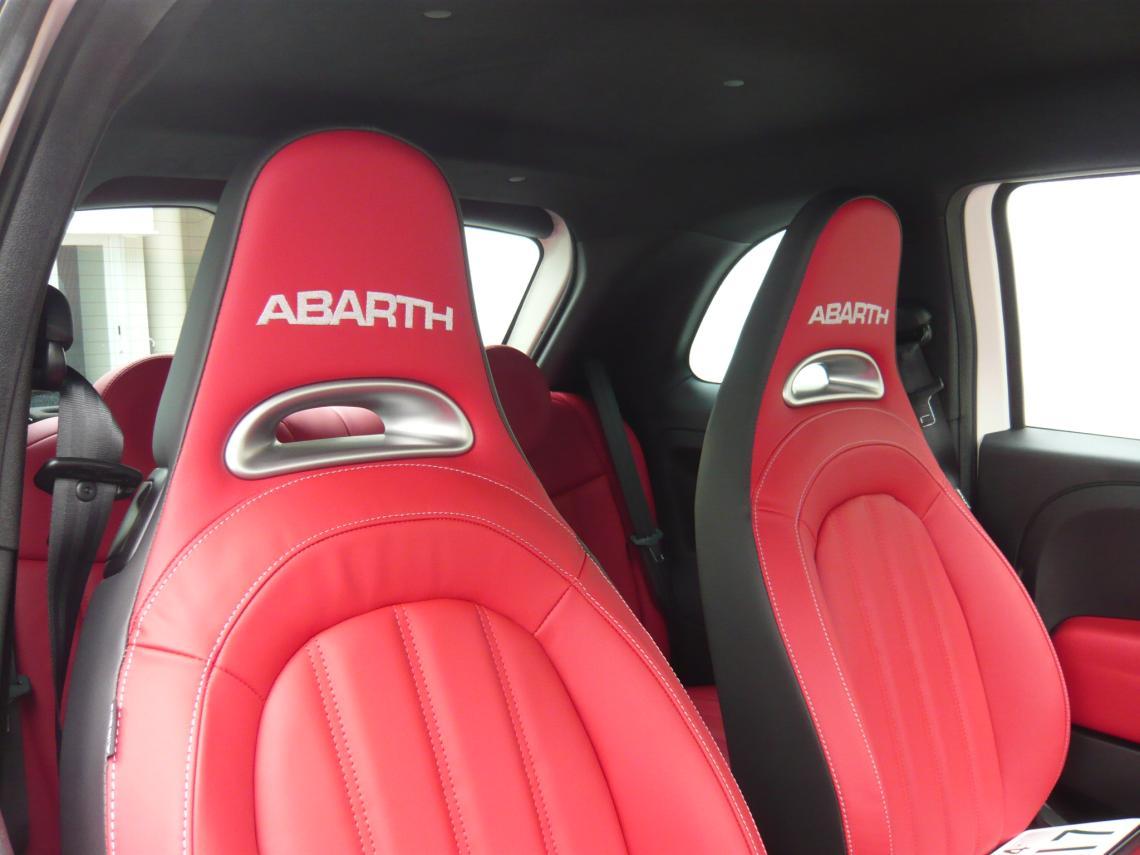 ABARTHの認定中古車がようやく入荷!