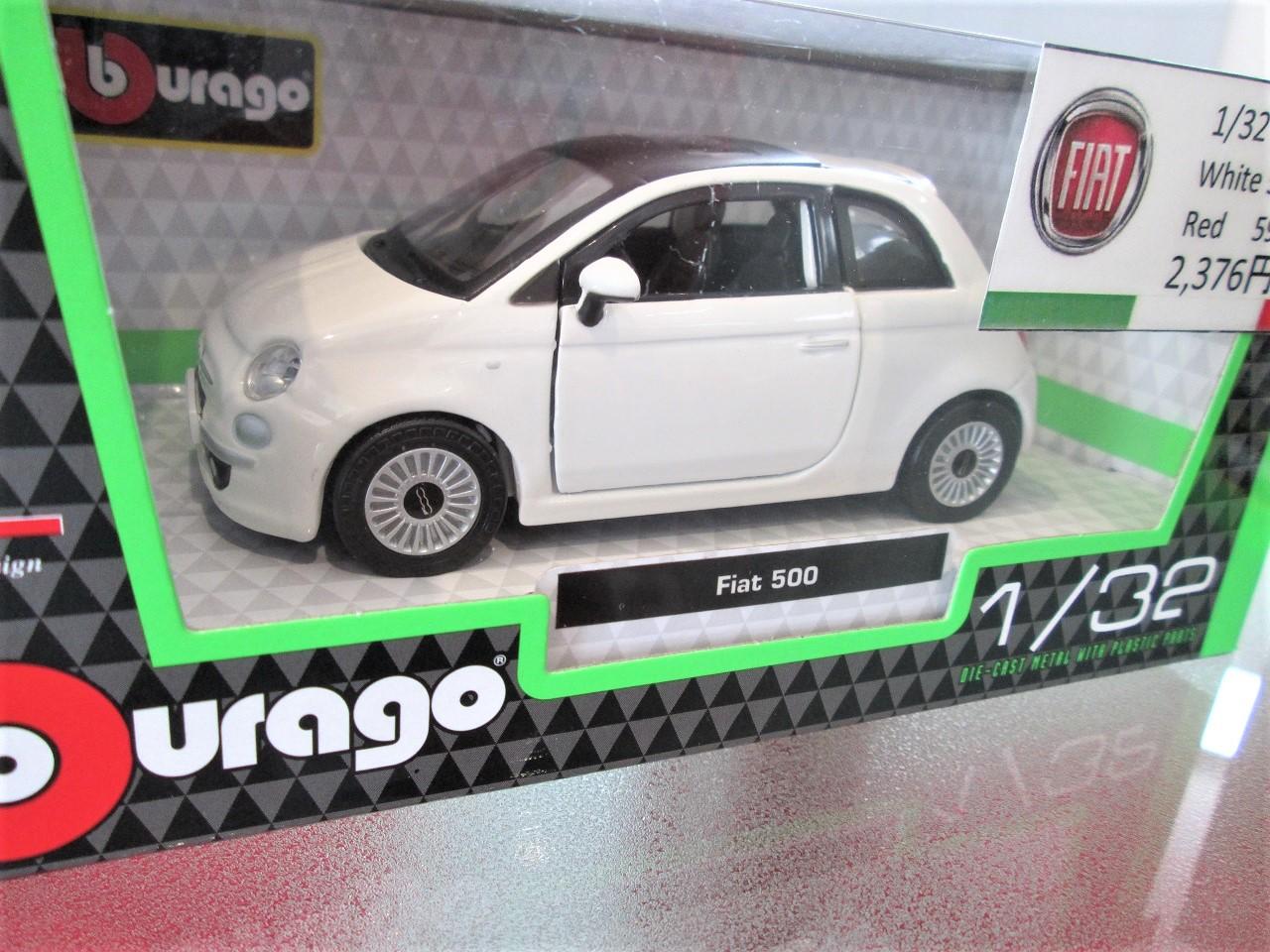 1/32 FIAT 500ミニチュアカー