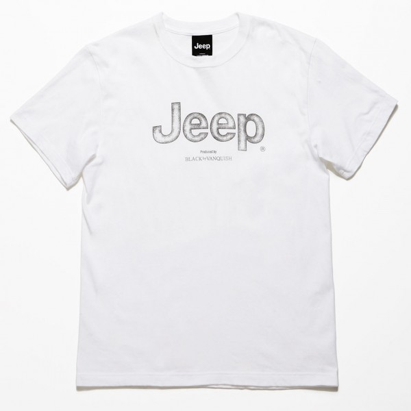 Jeep × Black by VANQUISH T-shirts Logo