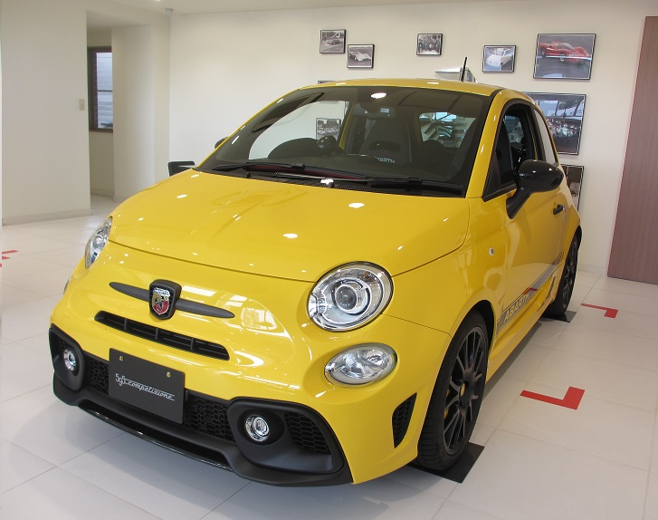 ABARTH 595 Competizione Performance Package