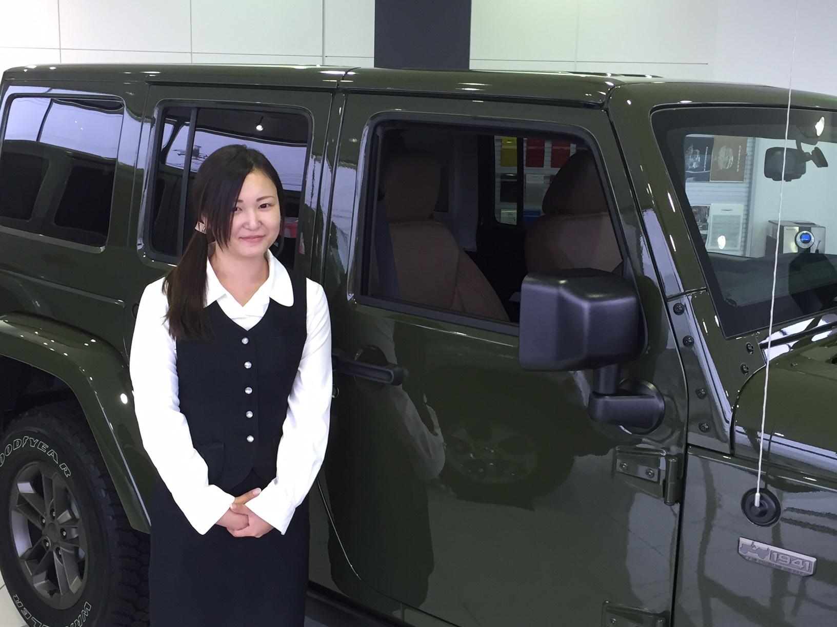 ショールームアテンダント 木村 美帆