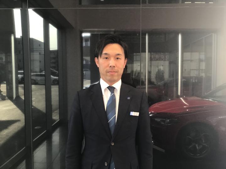 セールススタッフ 山田 和茂