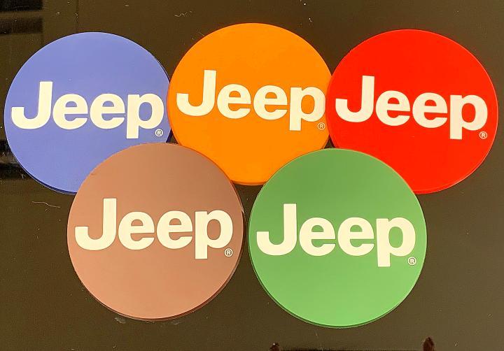 Jeep®コースター(5色セット)