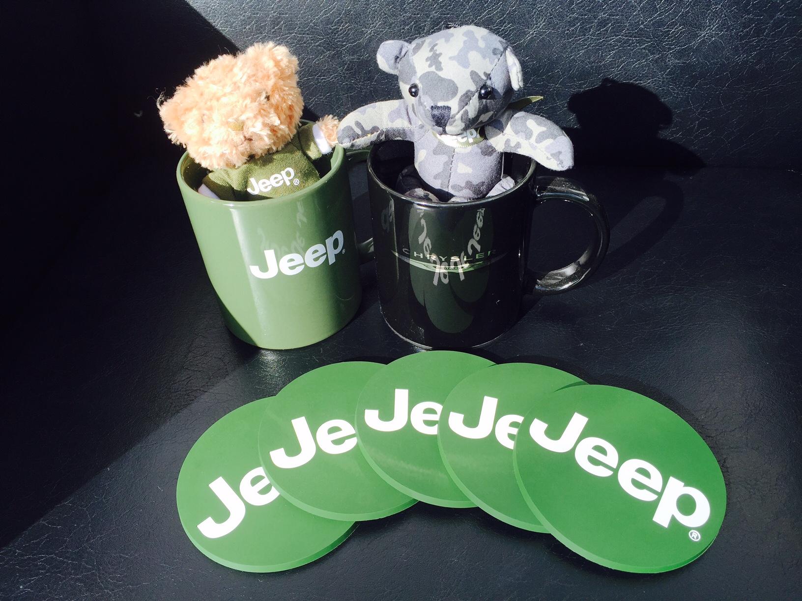 Jeep コースターセット (5枚)