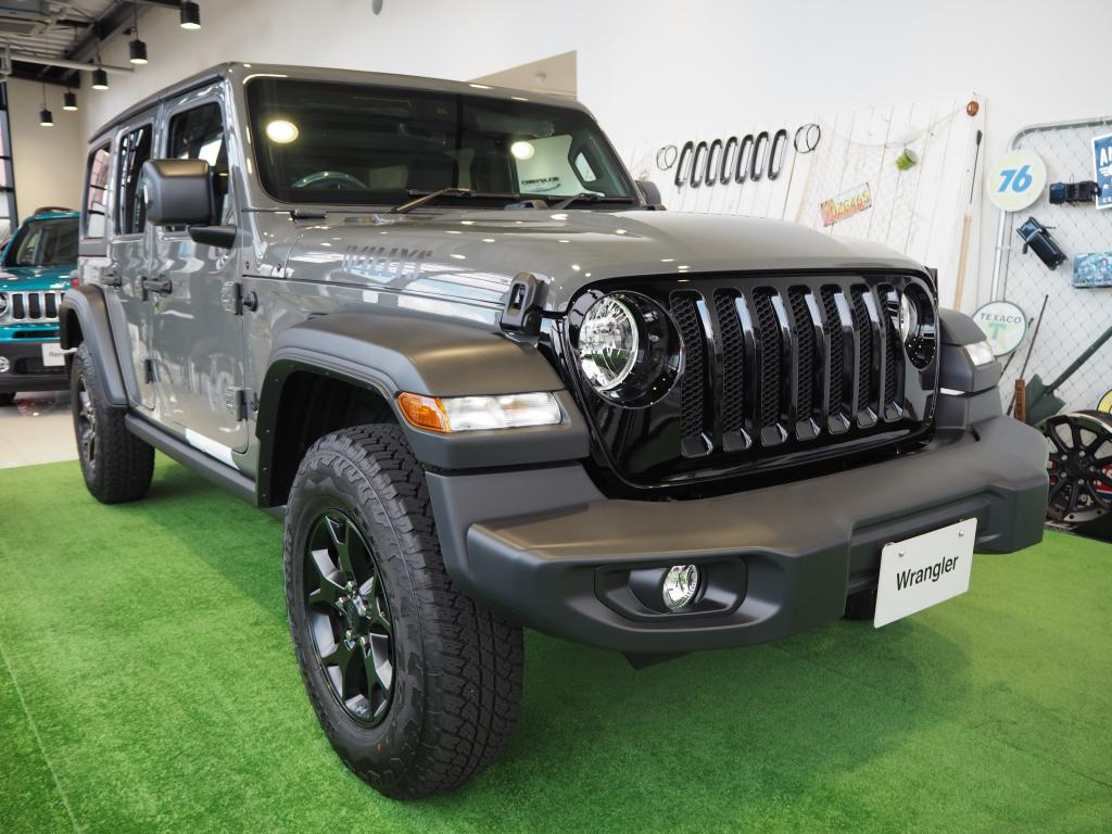 Jeep® Wrangler Unlomited Willysショールームに展示中★