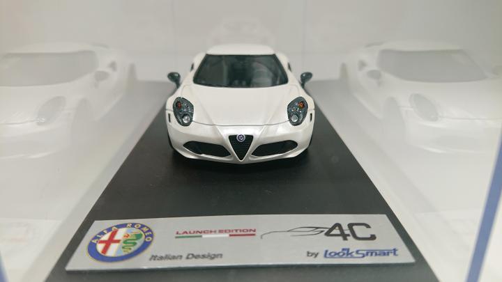 1/43 Alfa Romeo4C -Launch Edition-