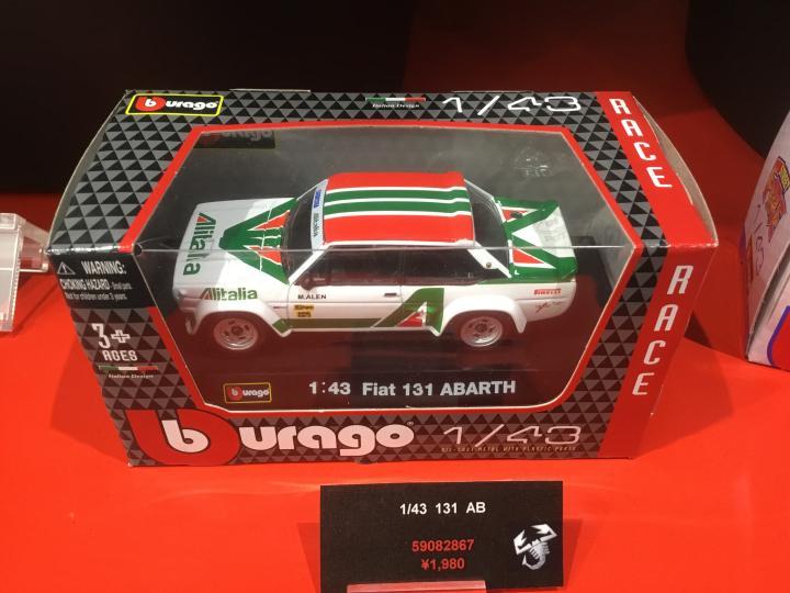 FIAT131アバルト