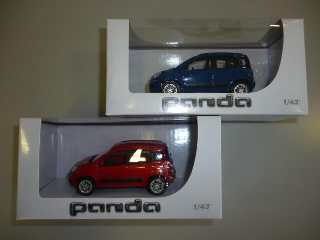 FIAT パンダモデルカー