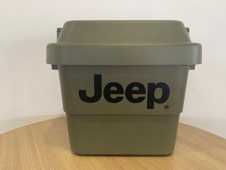 Jeep ロゴ入りツールボックス(小)