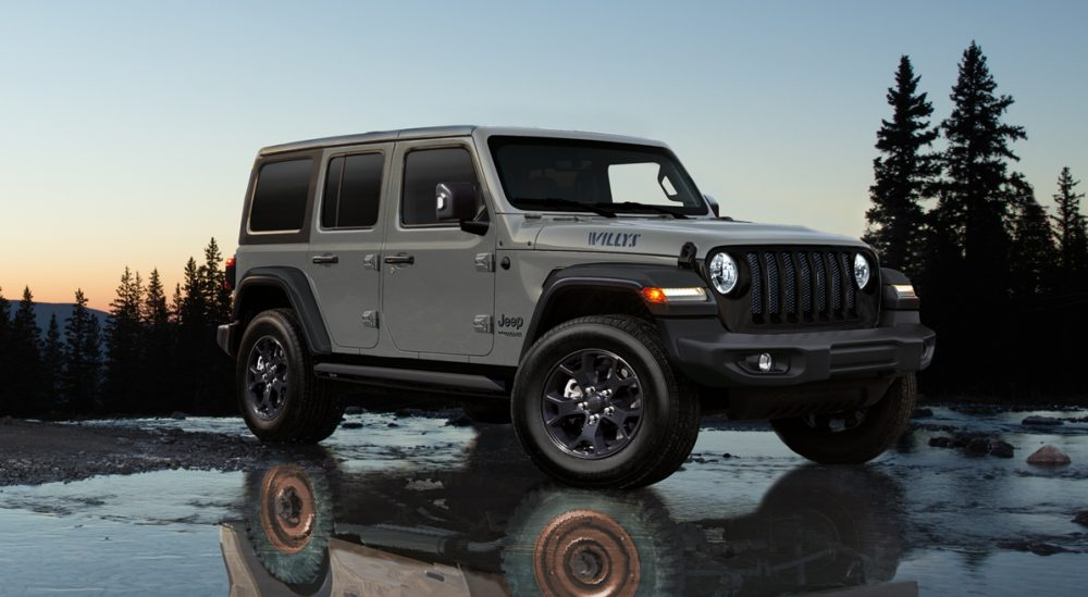 Wrangler Unlimited Willys Debut!!!!