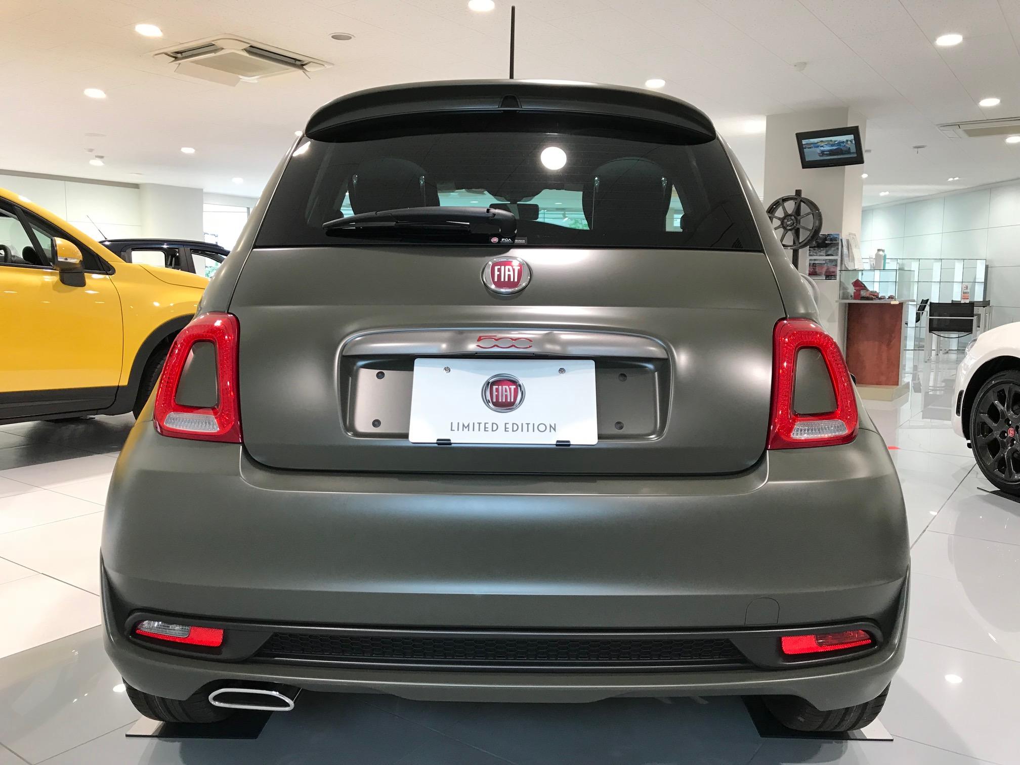 新限定車「FIAT 500S Manuale」登場!