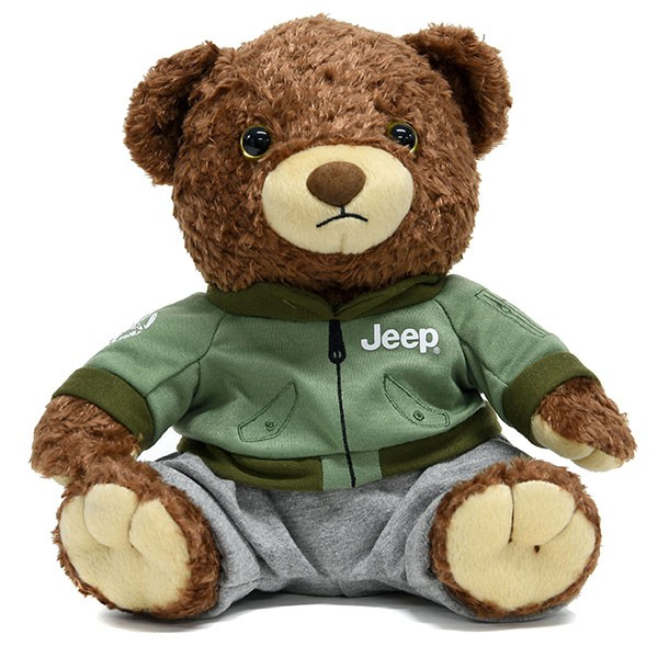 Jeep® ベアぬいぐるみ MA-1