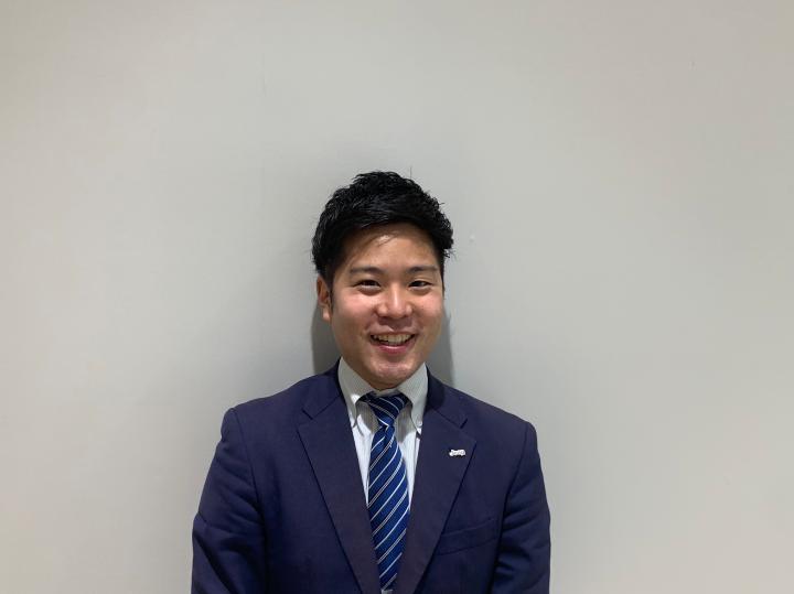 セールスマネージャー 大水 慎太郎