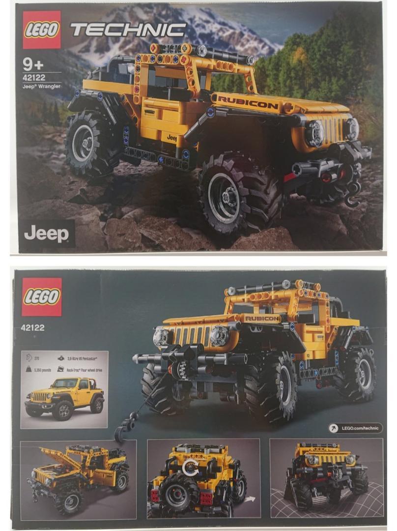LEGO WRANGLER RUBICON